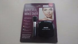 Klever Koncepts Mineral Makeover With Stubby Brush BRAND NEW UNOPENED