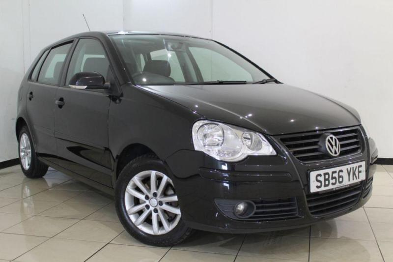 2007 56 VOLKSWAGEN POLO 1.4 S 5DR AUTOMATIC 74 BHP