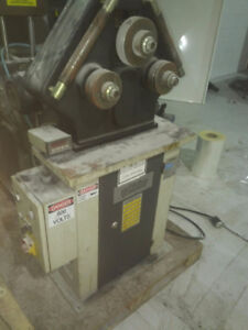600 volts roll bender with digital readout
