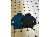 2x Girls brand new jumpers blue and grey £4