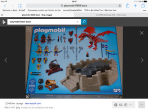 Playmobil guerriers