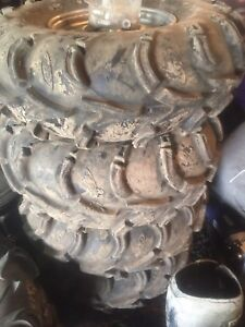 ITP Mud Lite Tires on Yamaha Rims