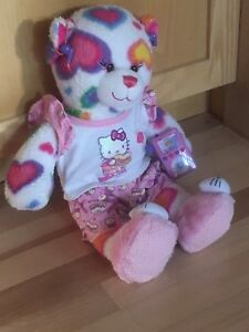 Build a Bear, with Hello Kitty outfit and cell phone$20