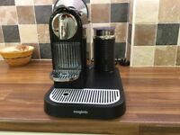 Nespresso M195 Citiz coffee machine and milk frother