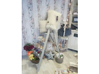 Shabby Chic Display Ladder