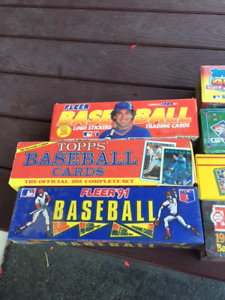 Unopened Baseball Factory sets $20 your choice