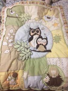 Couvre lit bébé