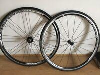 Road bike wheels, Campagnolo Khamsin