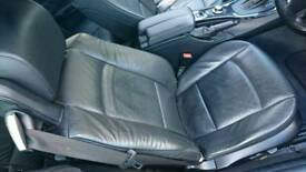 BMW E93 CONVERTIBLE INTERIOR BLACK LEATHER SEATS