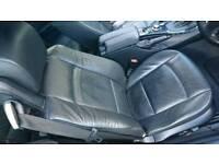 BMW E93 CONVERTIBLE INTERIOR BLACK LEATHER SEATS