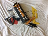 A great selection of tiling tools