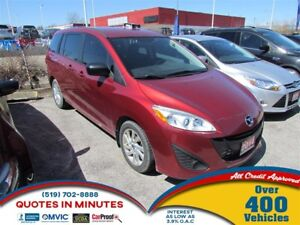2014 Mazda MAZDA5 GS | MUST SEE | ALL CREDIT APPROVED