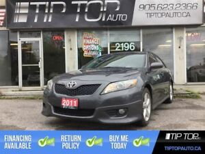 2011 Toyota Camry SE ** Leather, Sunroof, Bluetooth, V6 **