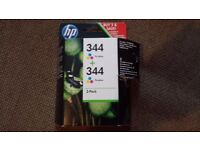 HP 344 C9363E Tricolor Cartridge Pack of 2