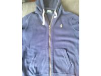 Ralph Lauren men's navy hoodie