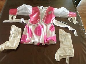 Costume Cowgirl de Barbie  3-5ans