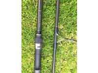 Greys Prodigy + 50. 12' Carp rod. 2.75tc 50m