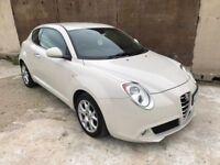 2009 59 Alpha Romeo Mito Lusso 1.4, Parking Sensors, Alloys, 12 Month Mot, 3 Month Warranty