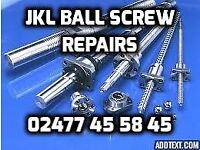 BALL SCREW REPAIRS BIRMINGHAM, LONDON, MANCHESTER, MIDLANDS, NORTH EAST, NATION WIDE, COVENTRY