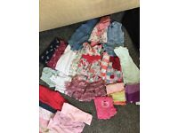 Massive bundle of 0-3 month baby girl clothes