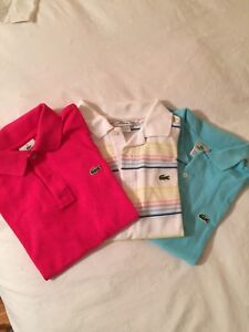 Lacoste Golf Shirts For Sale - size 14