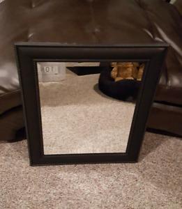 Brown Brushed Mirror