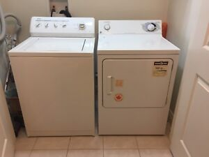 Kenmore washer & GE dryer