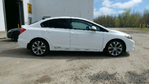 2012 Honda Civic SI Sedan $11,900