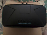 Oculus Rift DK2 Virtual Reality VR Headset - Not CV1 - Boxed - Good condition