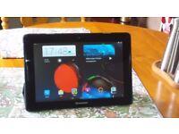 "Lenovo A7600-F 10"" tablet."