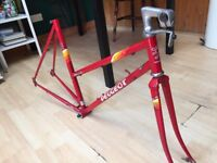 Peugeot ladies frame bicycle frame, racing, single speed, fixgear, fixed gear project bike