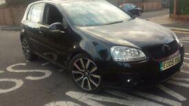 Golf gttdi 180ps Auto. Leather, Tv, black, 2995