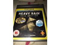 HEAVY RAIN PS3 PLATINUM