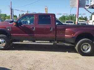 2009 Ford F-350 Lariat 4x4 SD Crew Cab 172 in. WB DRW