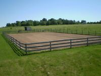 Wanted: Used Surface for riding arena (Any Sand, rubber, fibre)