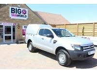 2012 FORD RANGER XL 4X4 TDCI 150 SUPER CAB WITH TRUCKMAN TOP PICK UP DIESEL