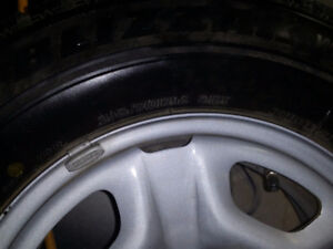 Winter Tires Hardly Used