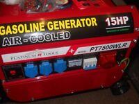 brandnew generator