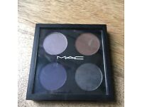 Mac Cosmetics Parlour Smoke Eyeshadow Quad- almost new