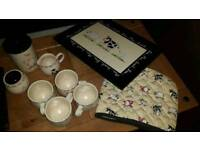 Home farm tea set kitchen cups