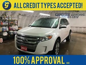 2012 Ford Edge LIMITED*AWD*NAVIGATION*LEATHER*POWER SUNROOF*REVE