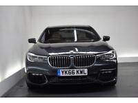 BMW 7 SERIES 4.4 750I M SPORT 4d AUTO 443 BHP (grey) 2016