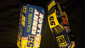 NASCAR 1/24 SCALE DIE CAST KENNY WALLACE