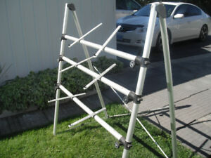 THREE TIER aluminum  KEYBOARD STAND $150   reduced to $100