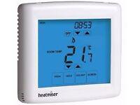 Heatmiser Touch E White Floor Heating Thermostat (Model PRT-E TS) Used