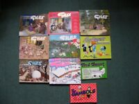 Giles cartoon annuals plus others
