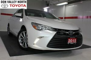 2015 Toyota Camry XLE Sunroof Btooth BU Camera Heated Lthr Pwr S