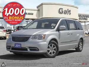 2011 Chrysler Town & Country Touring REAR DVD | SUNROOF | ONLY $