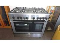 Kenwood 90cm gas/electric cooker vgc