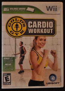 WII Gold's Gym Cardio Workout